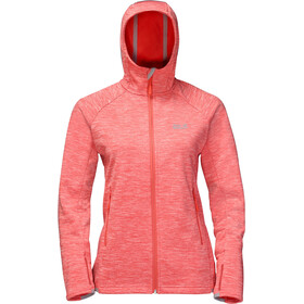Jack Wolfskin La Cumbre Trail Jacket Women hot coral